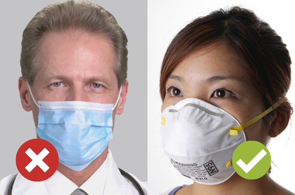 the surgical mask