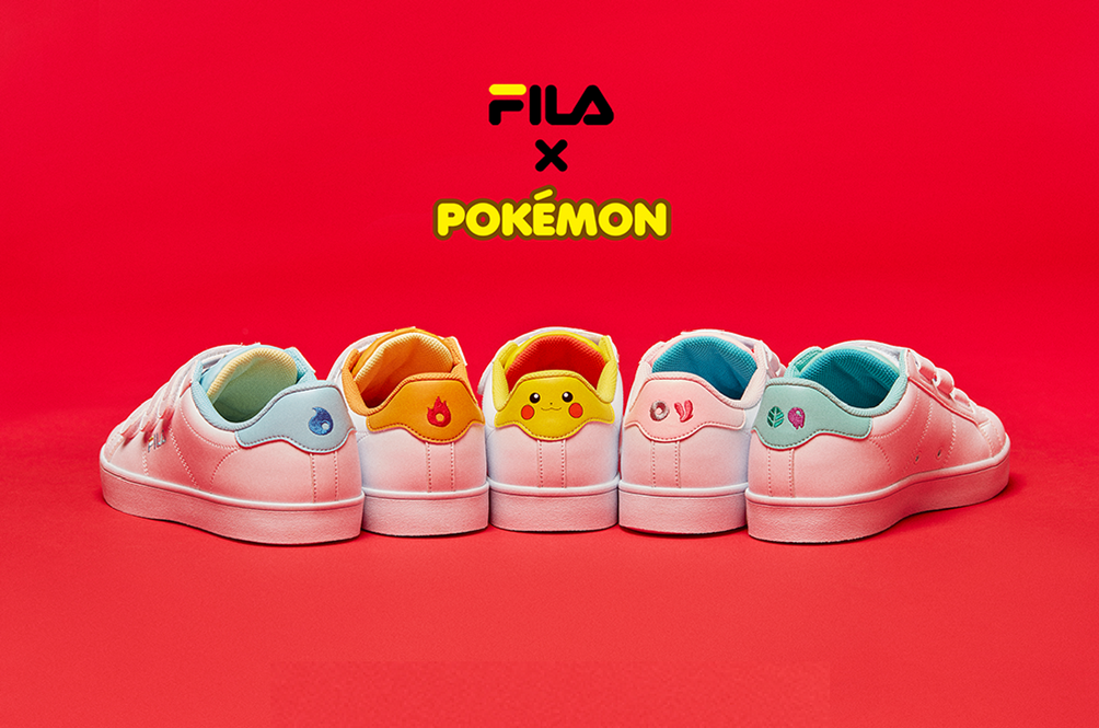 Fila Launched A New Pokémon Sneakers Line And Now We Want To Catch 'Em All