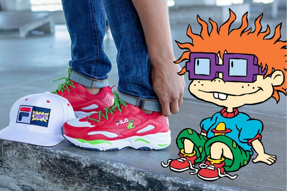 Hey 90s Kids, You Need To Get This Super Lit FILA X 'Rugrats' Collection ASAP