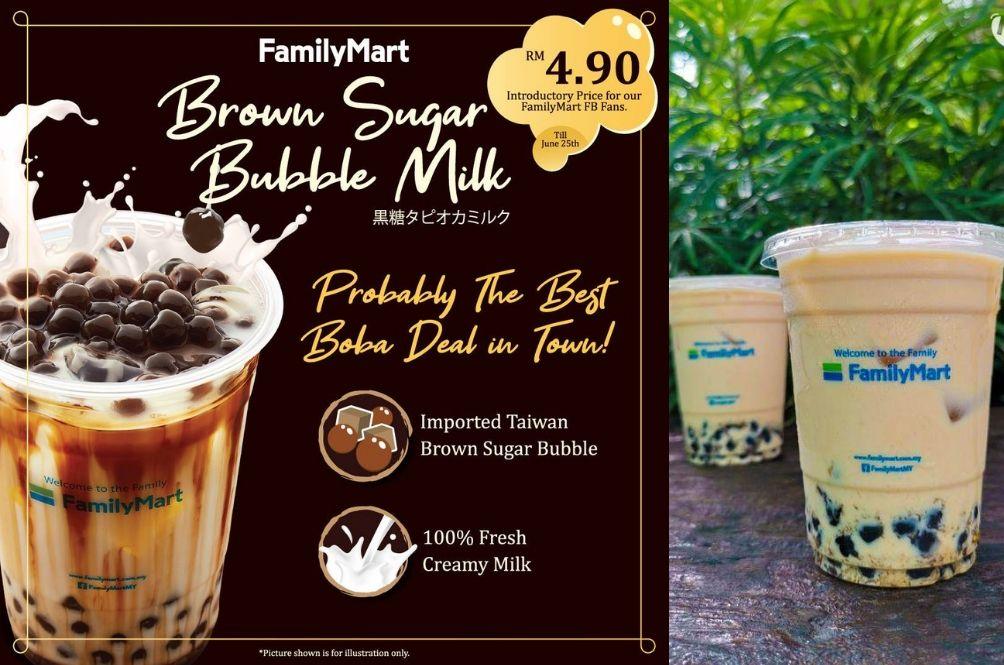 Image result for family mart bubble milk tea