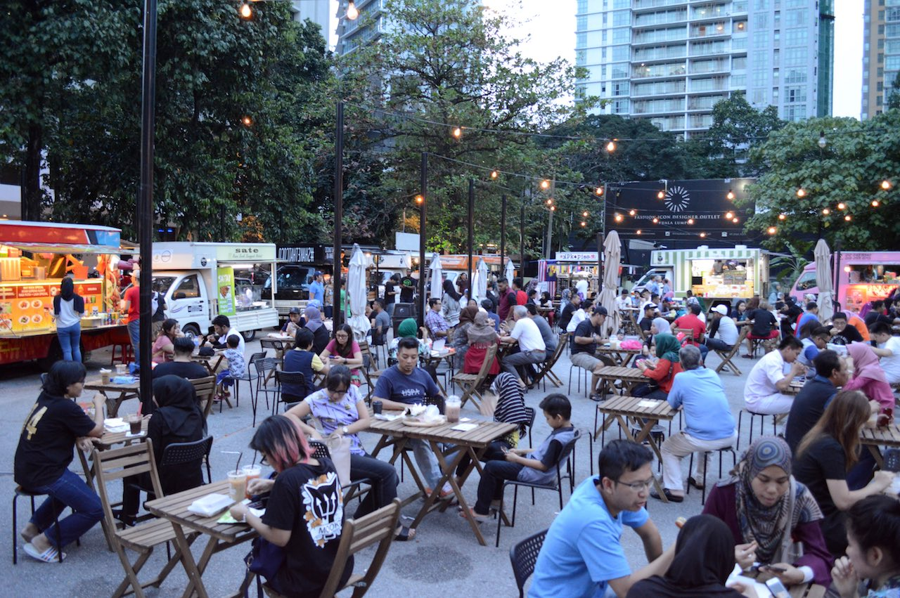 TAPAK food truck park is now opened in Amcorp Mall, PJ.
