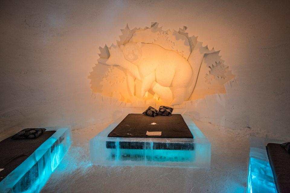 Would you dare sleep on an ice block for over RM1,000 per night?