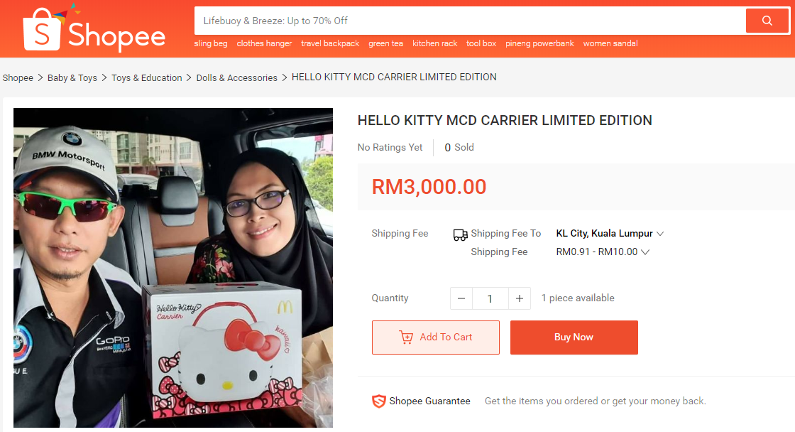 Don't believe us, just search on Shopee.
