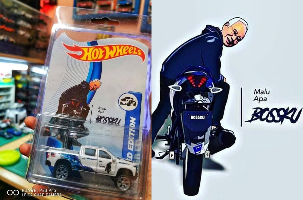 Hot Wheels Collectors, You Might Want To Snatch This Limited Edition Najib Razak Collectible