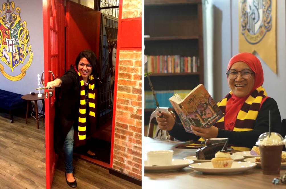 Grab Your Broomsticks, The First 'Harry Potter' Themed Café Just Opened In Malaysia!