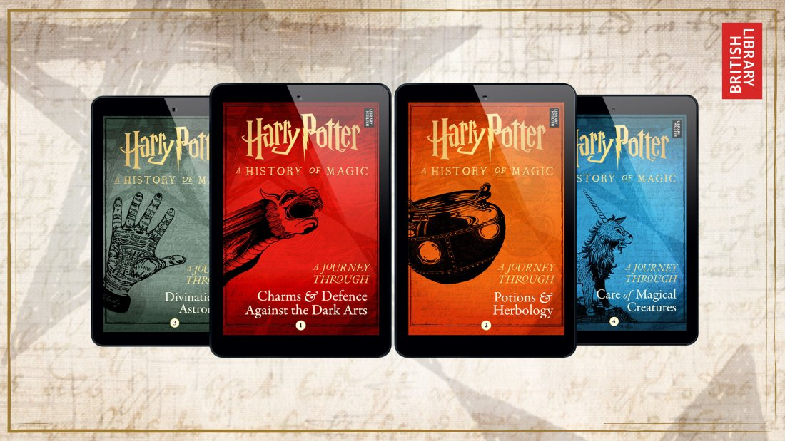 Four new books to add to your 'Harry Potter' collection.