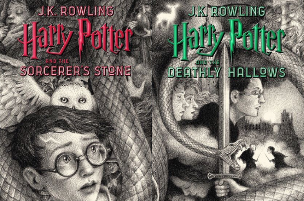 'Harry Potter' Unveils Seven New Book Covers For Their 20th Anniversary