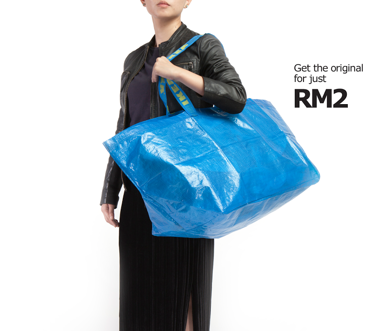 """The big blue bag that started it all at a price that's 4000 times more affordable."""