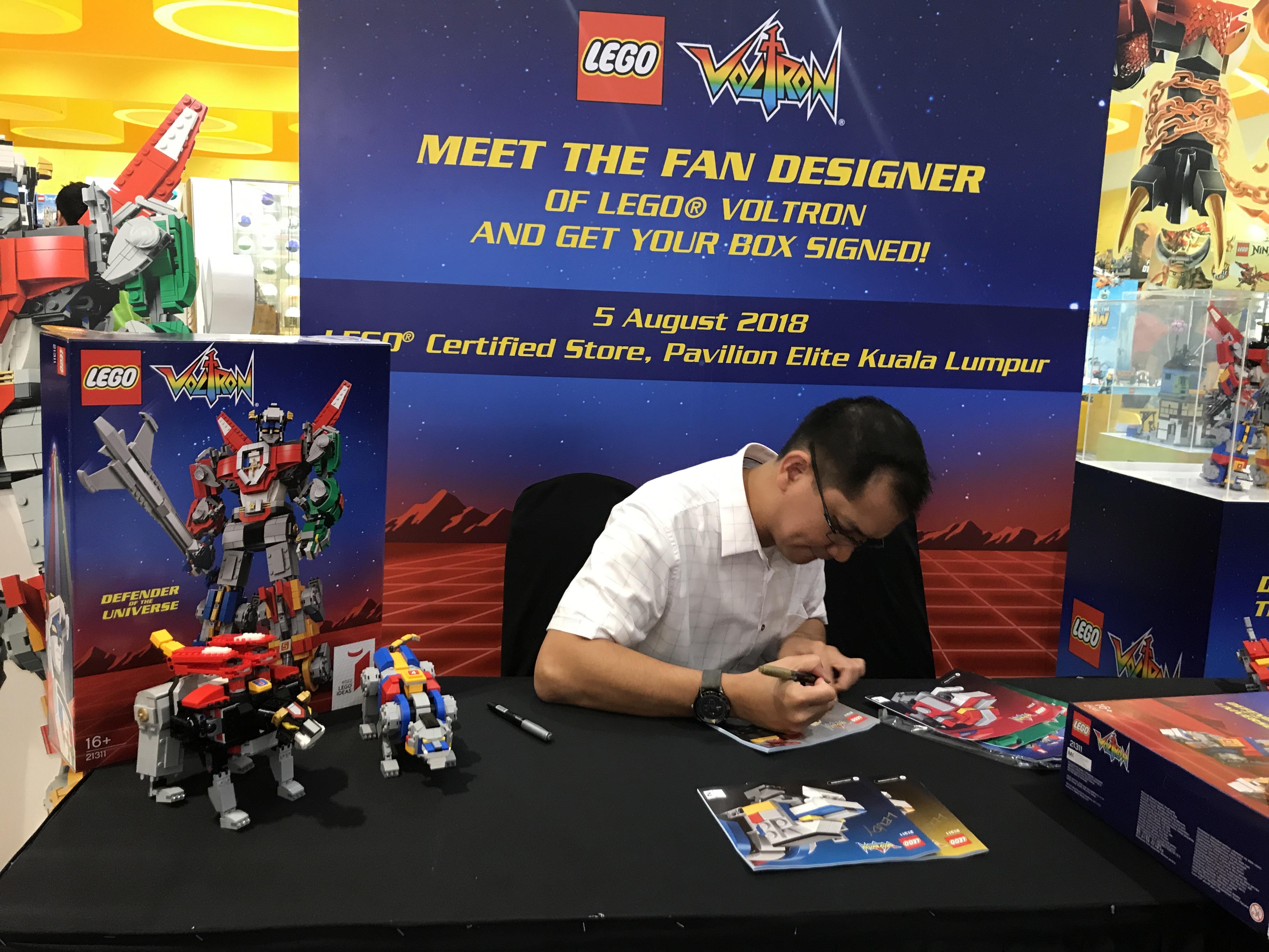 Overnight Lego celebrity!