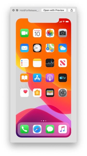 Here's the new *rumoured* background home screen for iPhone 11.