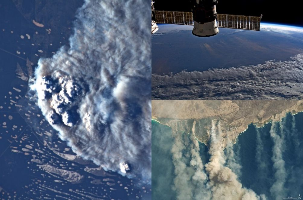 The Australia Bushfire Is So Bad That Astronauts Can See Smoke From Space