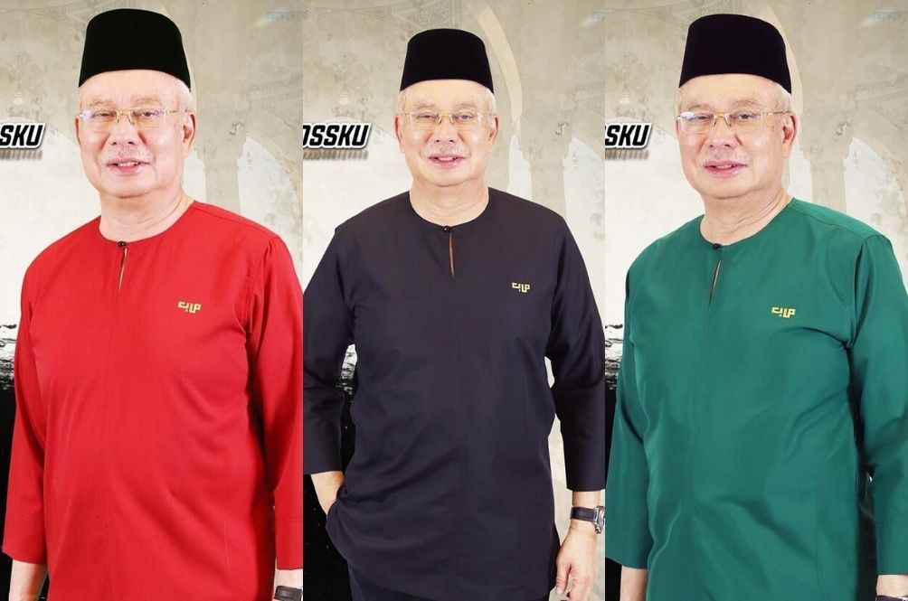Najib Says He's Doing #DuaKerja By Modelling For Upcoming Baju Raya Collection
