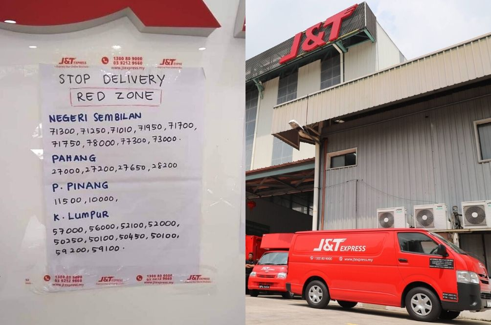 MCO: Local Courier Service To Stop Delivering To Red Zone Areas?