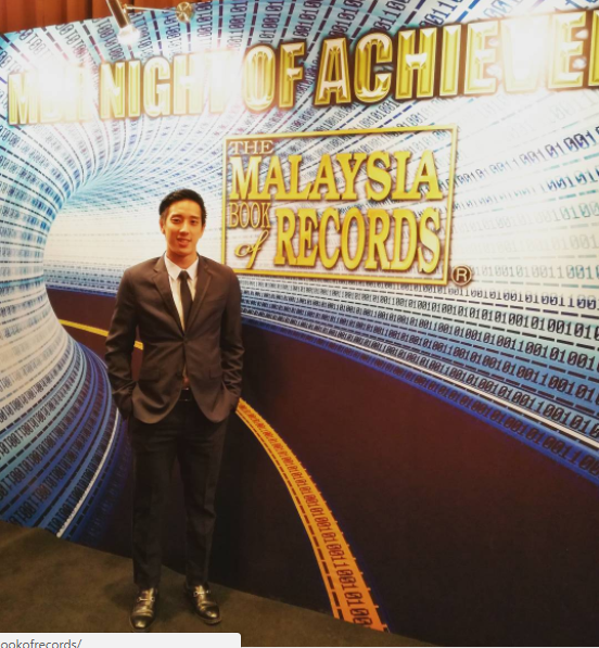 Did you know that Julian is a Malaysia Book of Records record holder?
