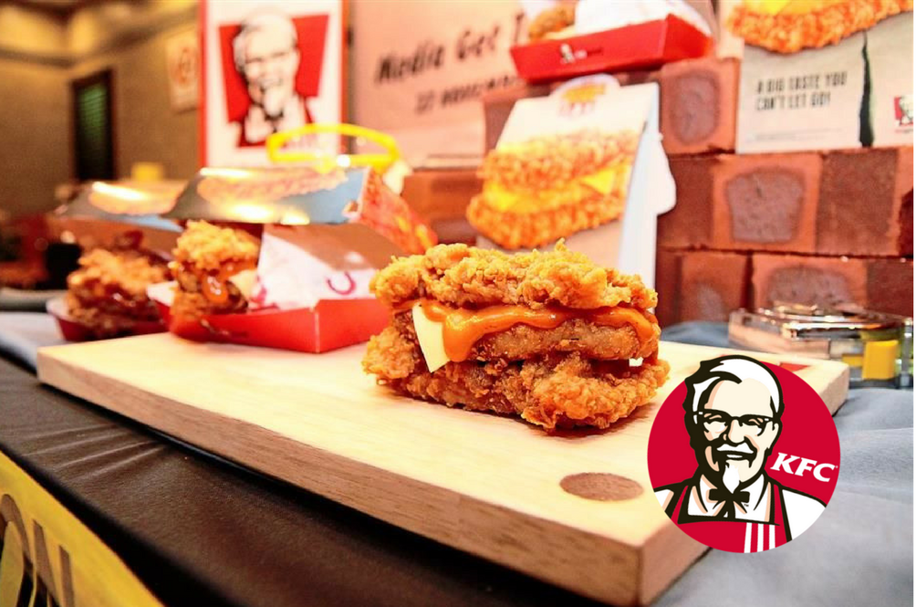 We Can't Keep Calm Because KFC's Zinger Double Down Is Back!