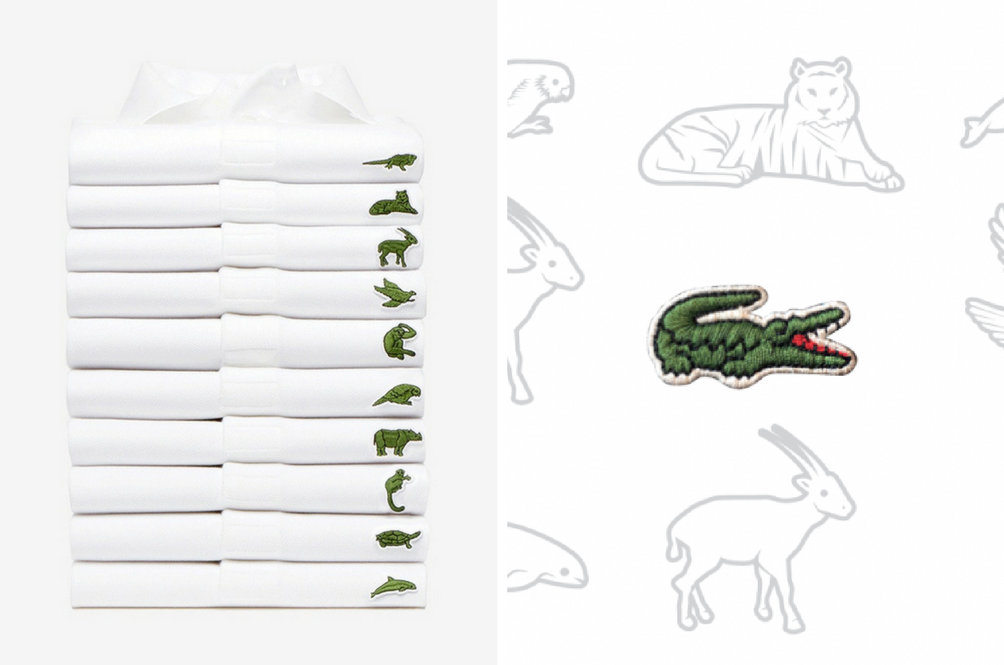 Lacoste Is Replacing Its Iconic Crocodile Logo With 10 Other Animals. Here's Why