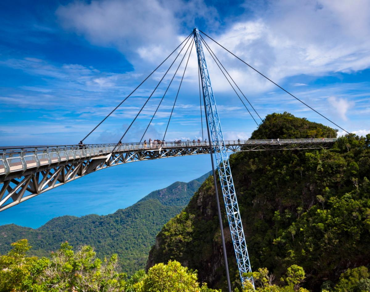 The scenic view Langkawi SkyBridge has to offer.
