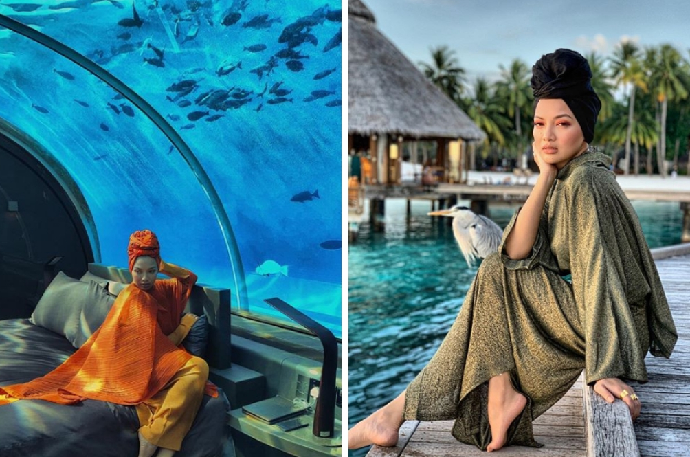 Check Out The RM200,000 Underwater Luxury Villa Neelofa Stayed At In The Maldives