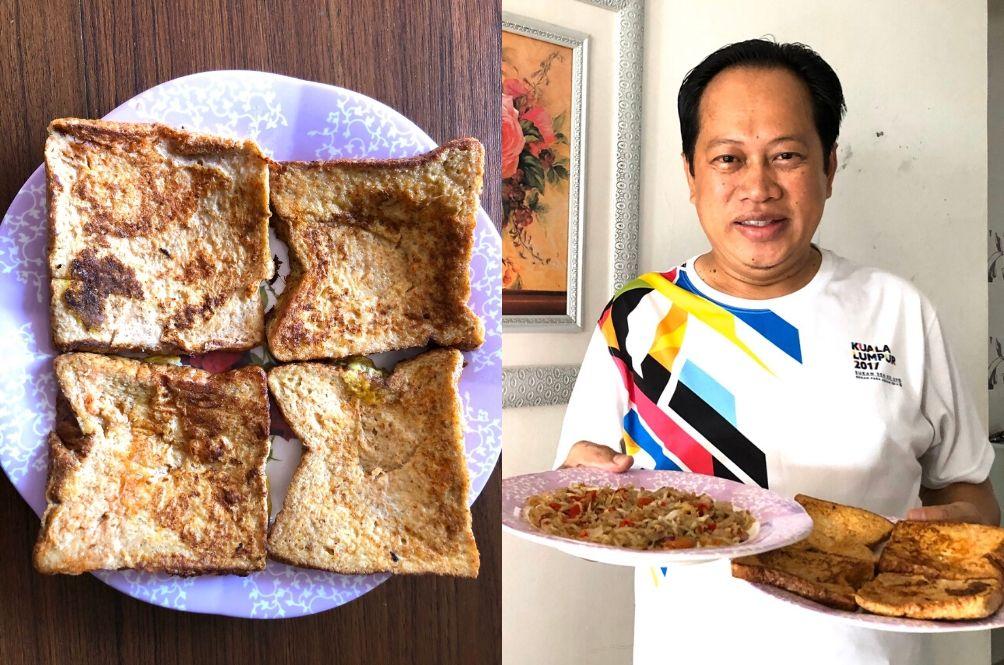 Amidst M'sia's Political Turmoil And PM's Resignation, Ahmad Maslan Shares His Bread Recipe
