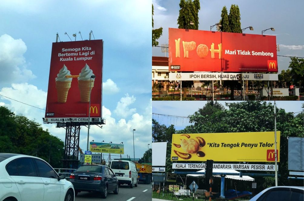McDonald's Viral Creative Billboards Pay Homage To Every State In Malaysia