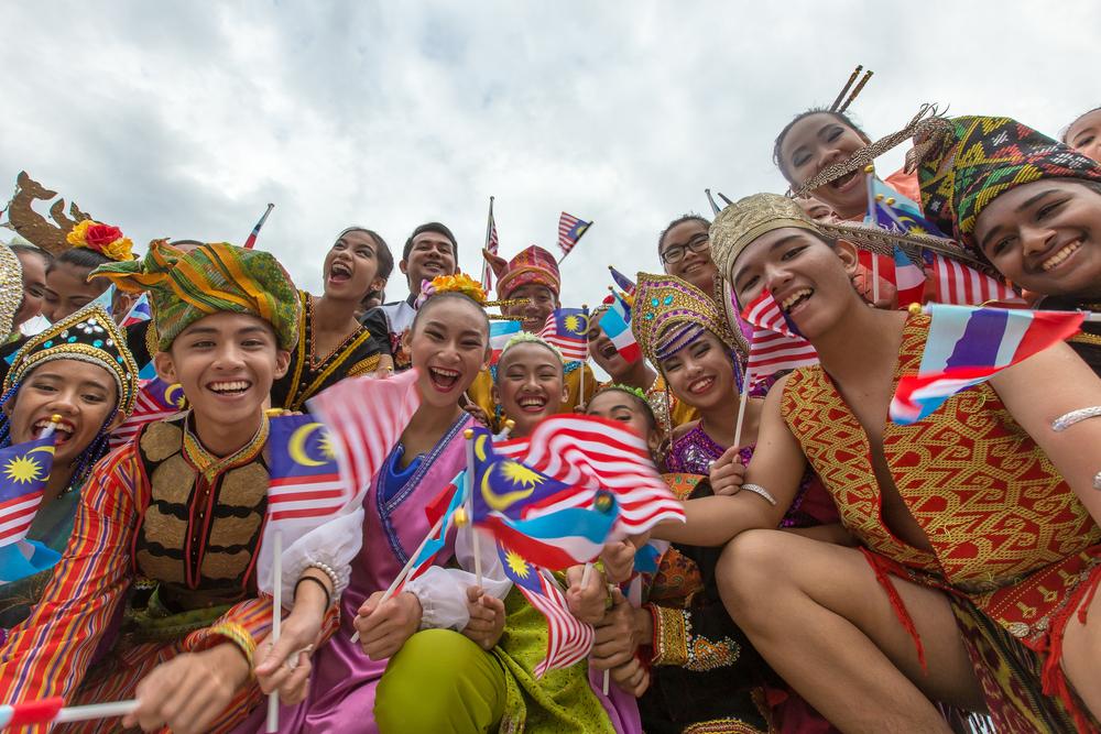 The colourful ethnics in Malaysia.