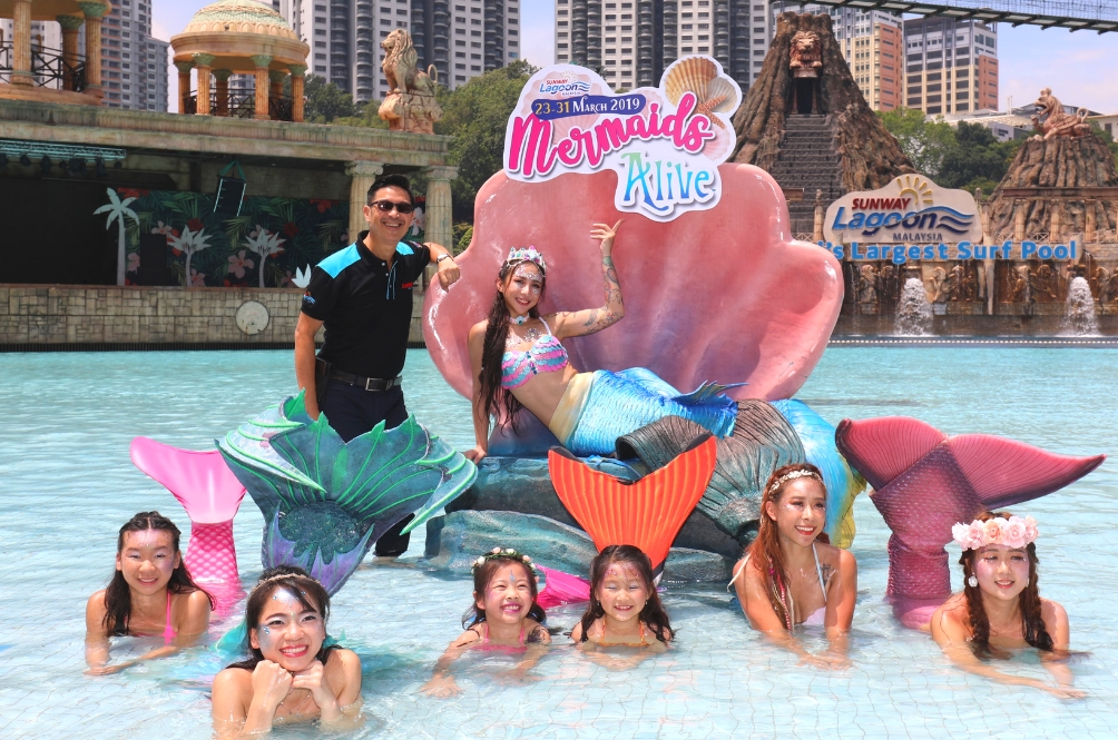 If You're Obsessed With Mermaids, Then Make Your Way To Sunway Lagoon For 'Mermaids Alive!'