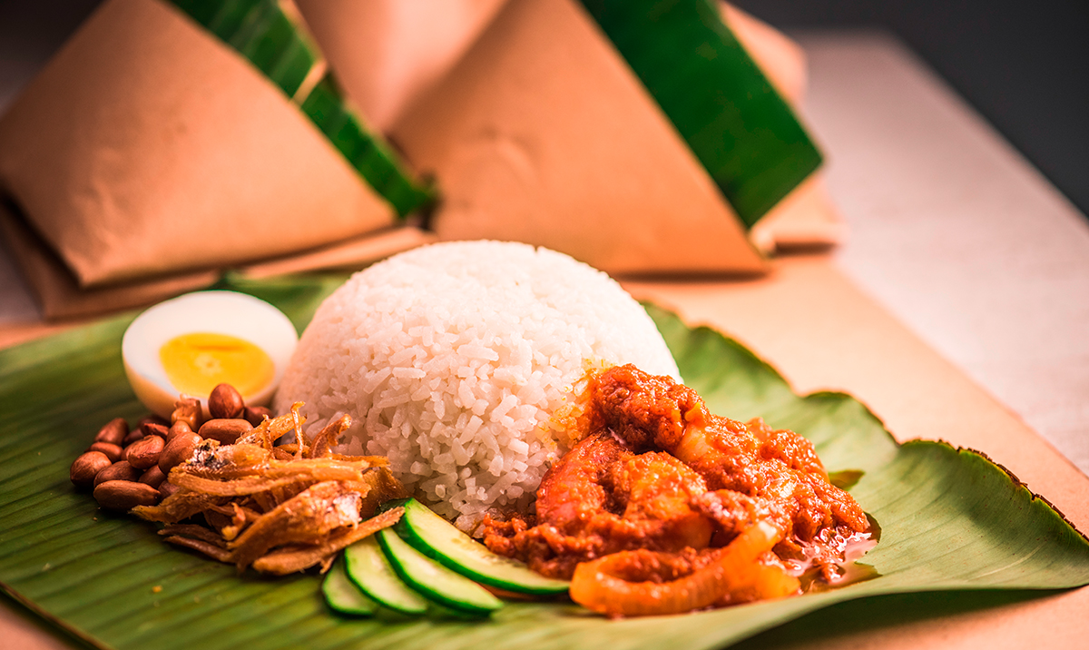 What do you eat your nasi lemak with? We love sambal kerang!