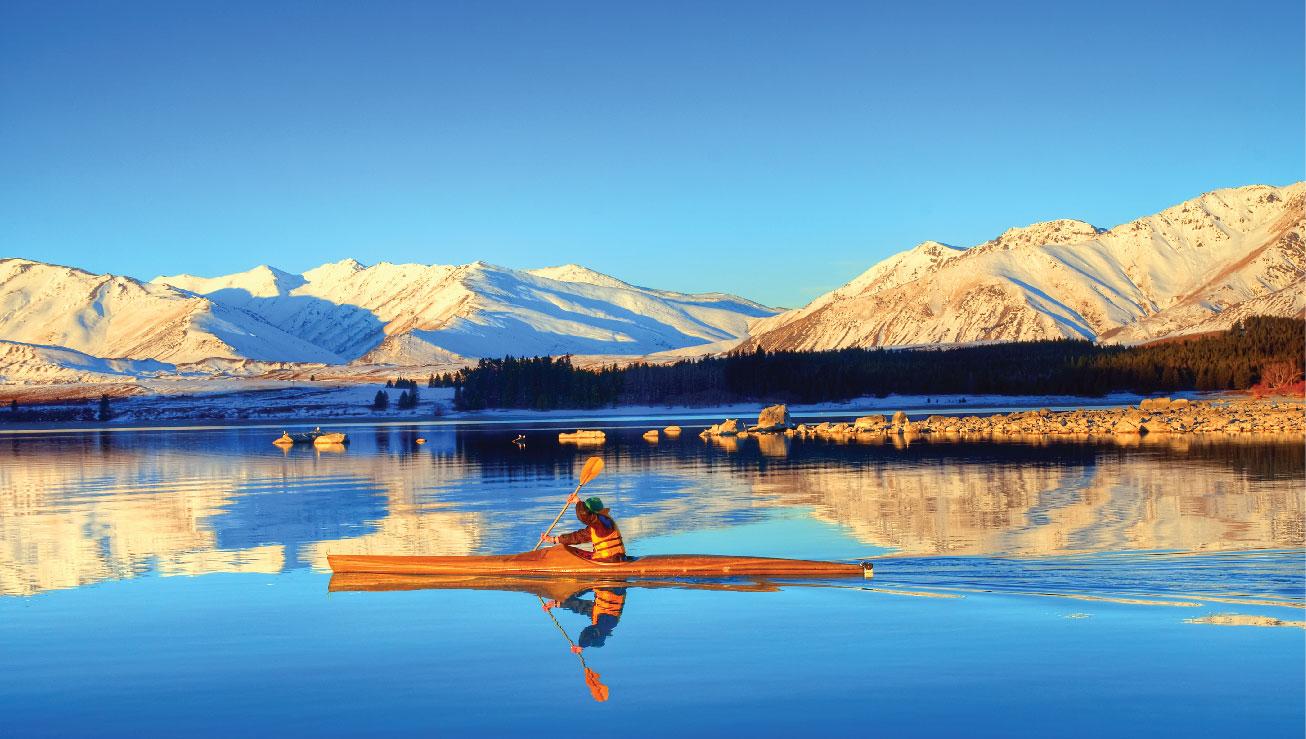 Nothing beats that kayak view!