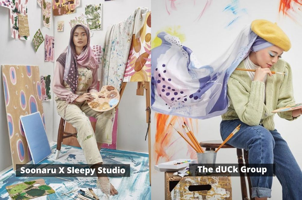 dUCk Scarves Accused Of Plagiarising Local Designer's Design And Campaign Concept