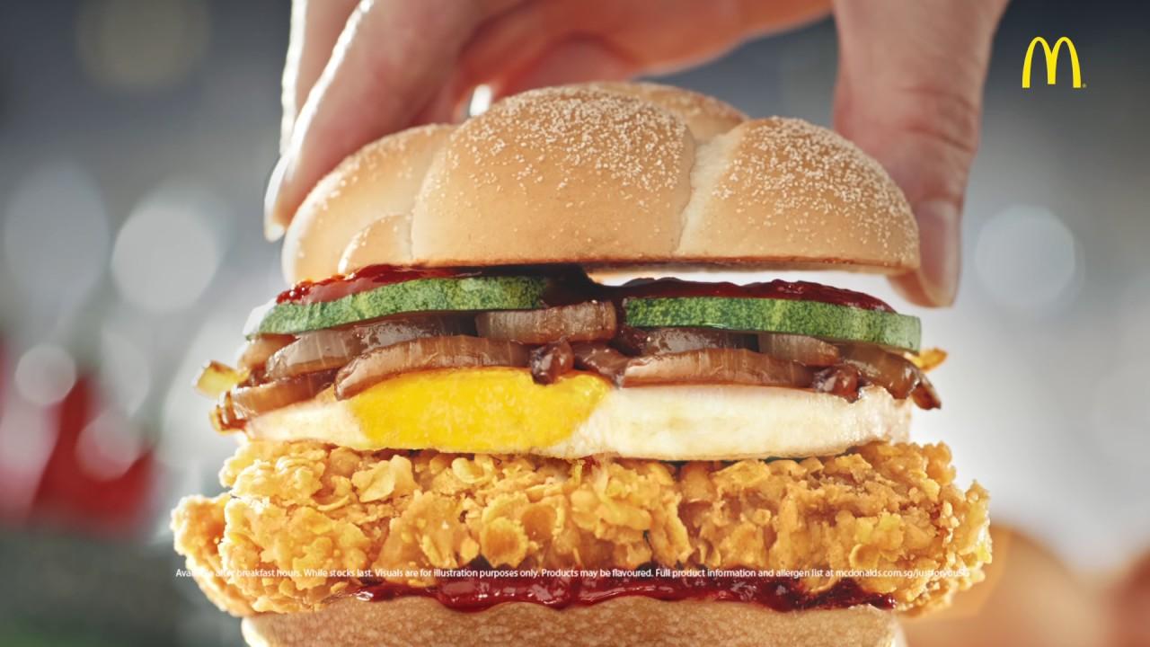 Blame McDonald's for starting this nasi lemak burger war.
