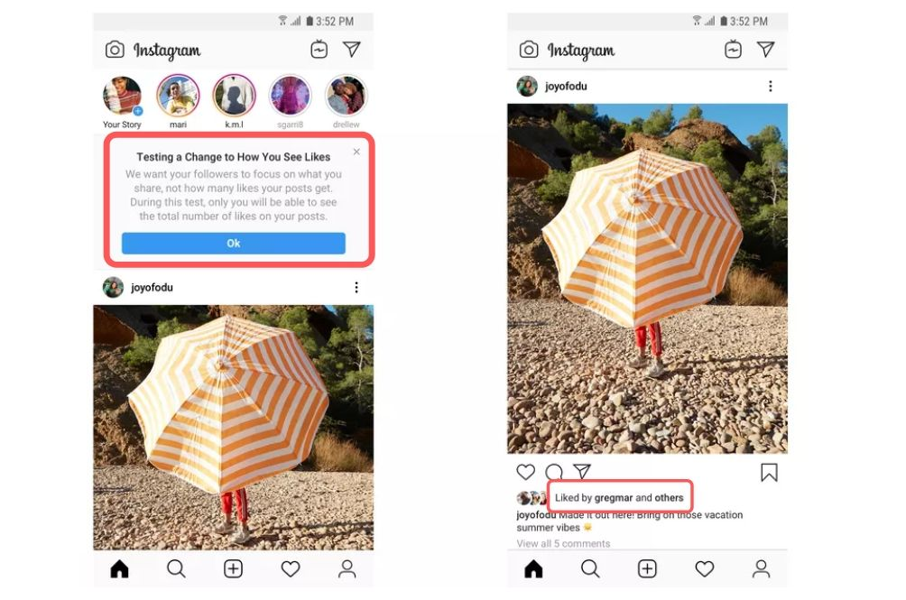 Instagram Hides Number Of 'Likes' So That You Don't Have To Feel Pressured