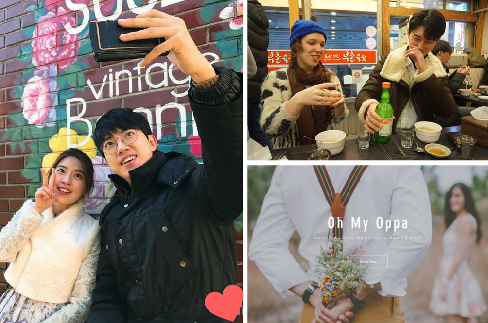 This Website Lets You Rent Actual Korean Oppas As Your 'Date' And Guide In Korea