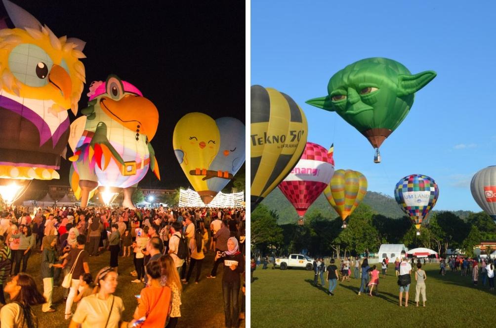 Penang Hot Air Balloon Fiesta Set To Land In February 2019