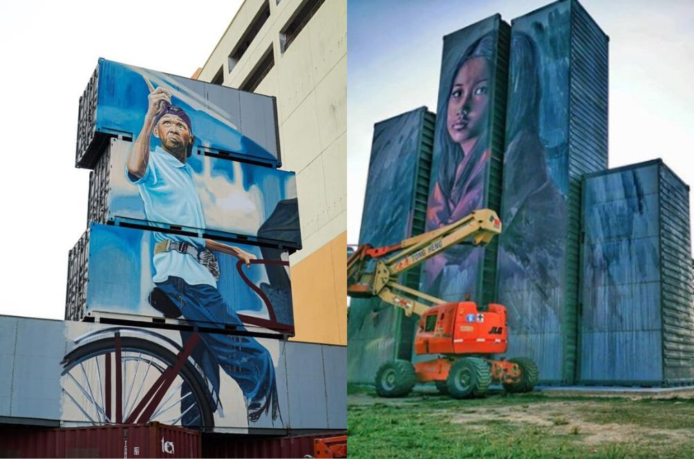 Instagrammers, Get Ready To Snap Away At This NEW Container Street Art In Penang!