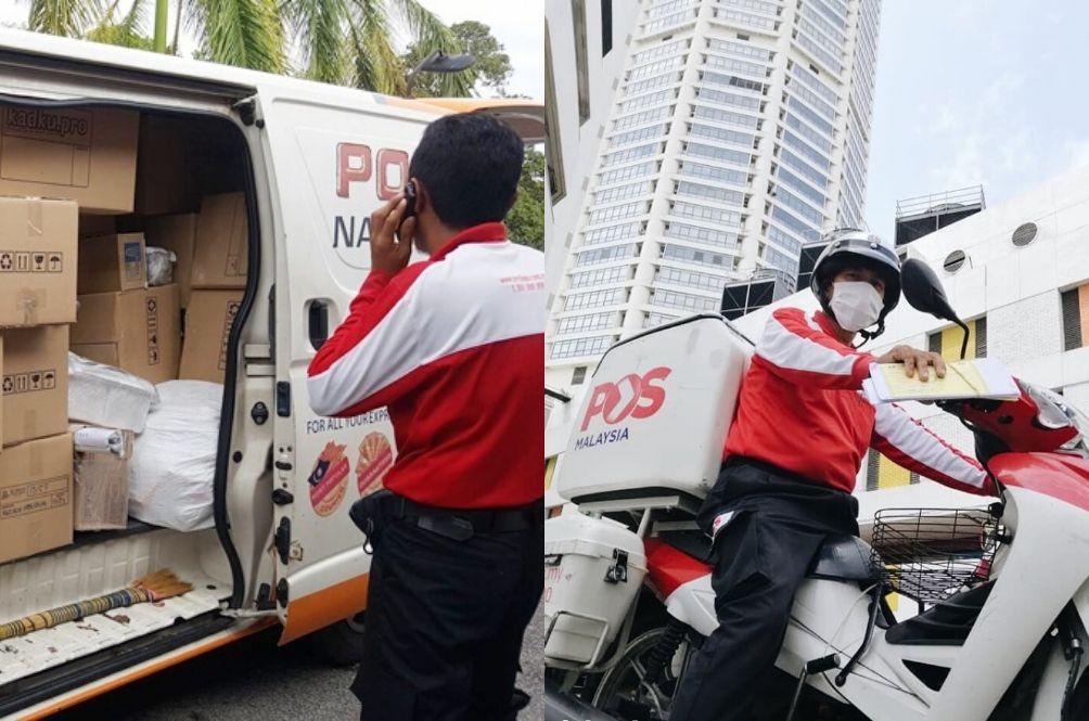 Netizens Encourage Tipping Our Abang PosLaju Following Pos Malaysia's No Bonus Kerfuffle