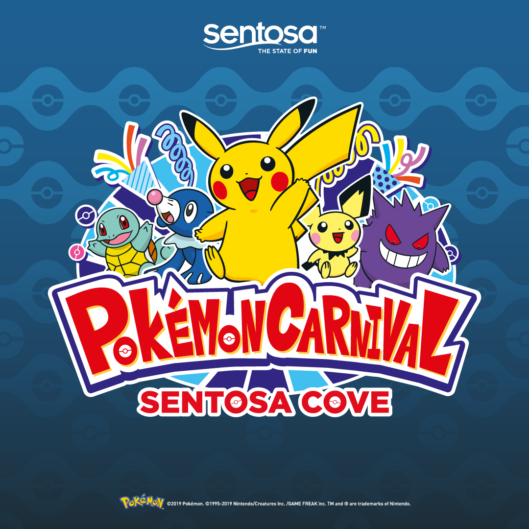 Asia's FIRST Ever Pokemon Carnival Is Happening In Singapore This June