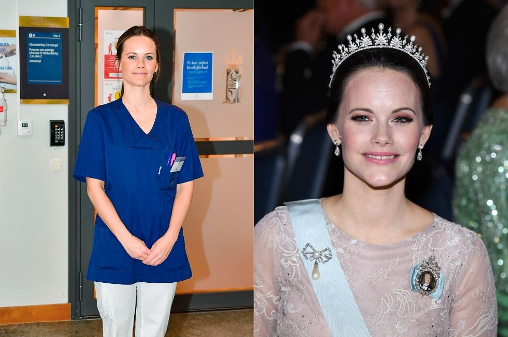 Princess Sofia Of Sweden Becomes A Medical Assistant To Help Fight COVID-19