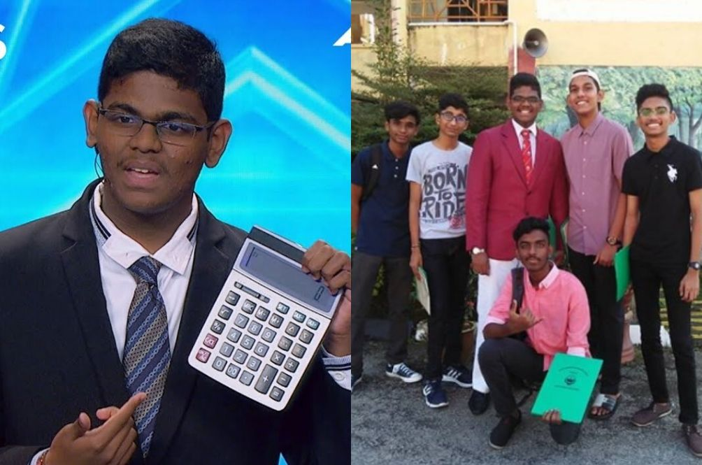 Malaysian Human Calculator From 'Asia's Got Talent' Scored 8As 1B For PT3 Examination