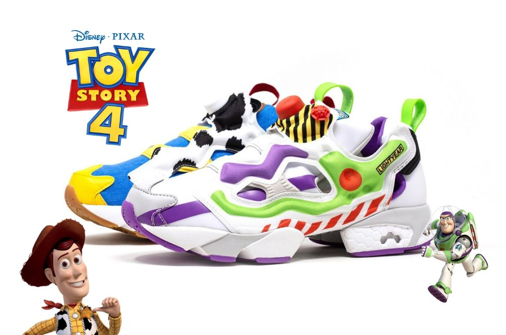 This 'Toy Story 4' X Reebok Sneakers Will Make You Fly To Infinity And Beyond