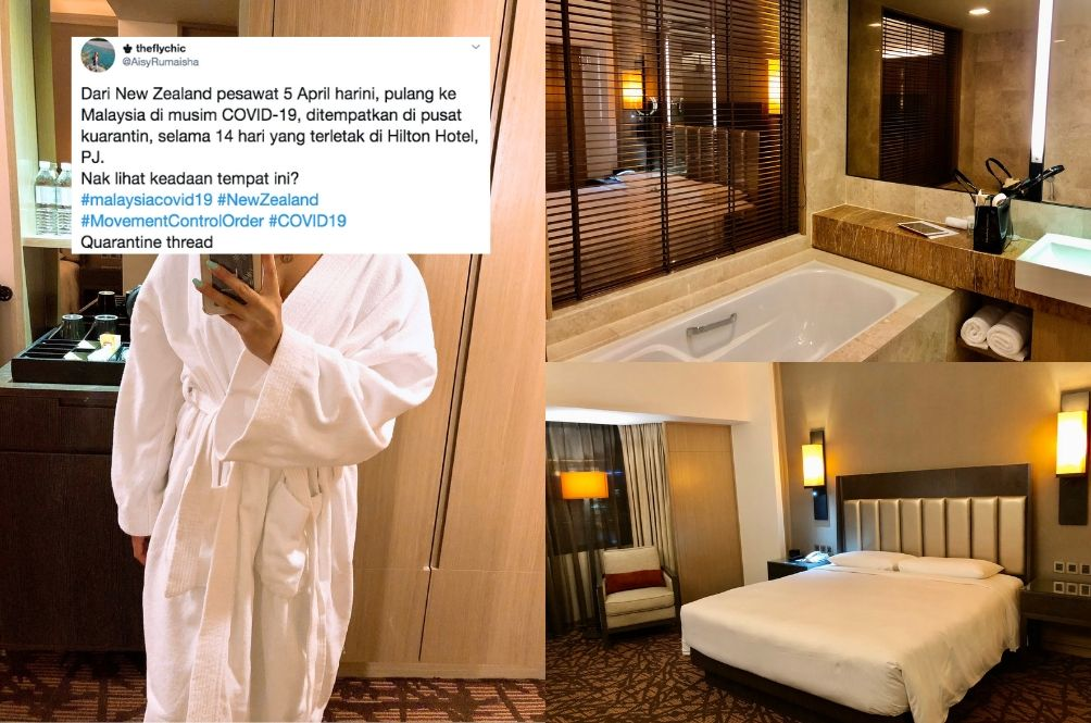 Netizens Question Govt Decision To Place Quarantined Malaysians In 5-Star Hotels