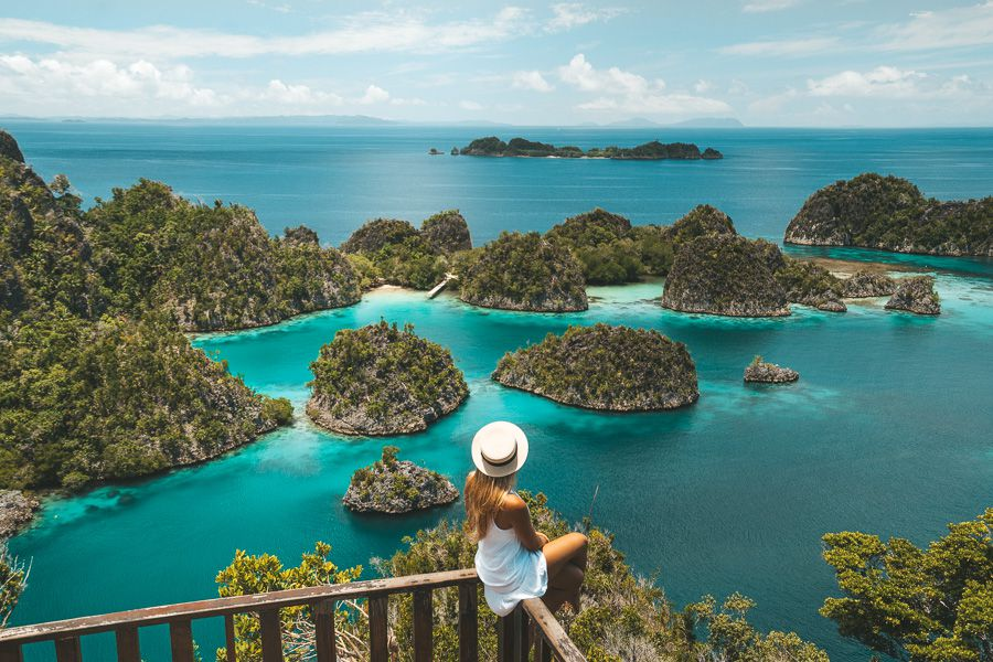 BRB booking a one-way trip to Raja Ampat now.