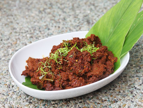 We love our rendang spicy!
