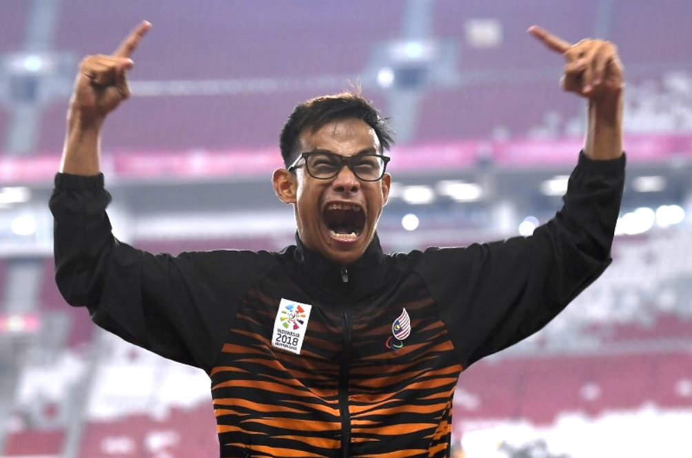 Ridzuan Puzi Has Been Crowned Asia's Best Male Para Athlete Of 2018
