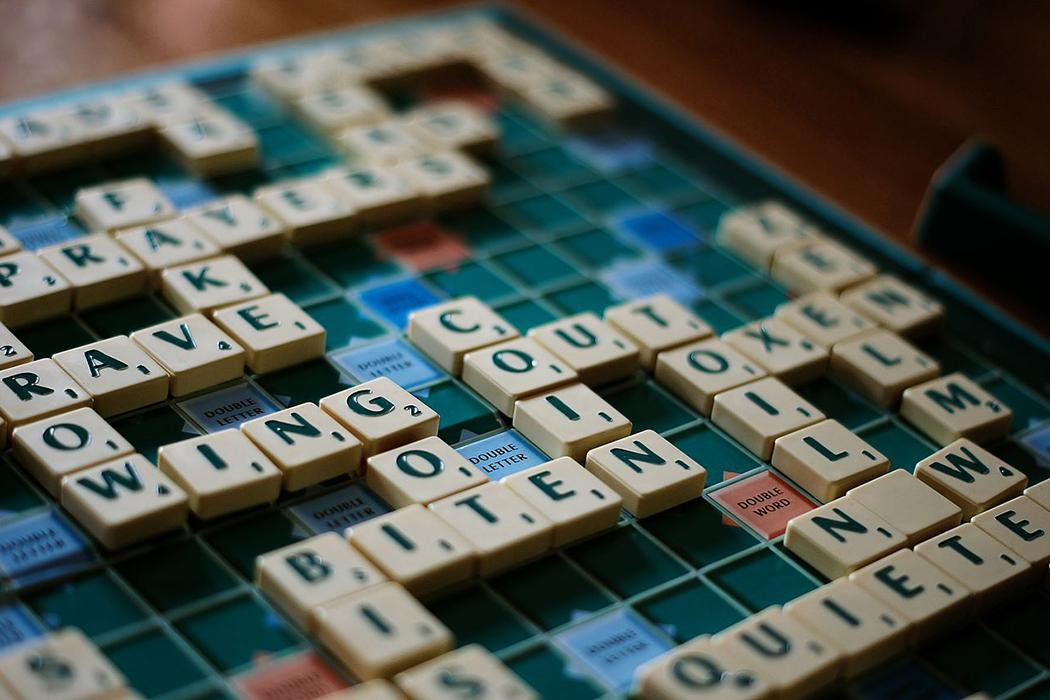 Do you enjoy playing Scrabble?