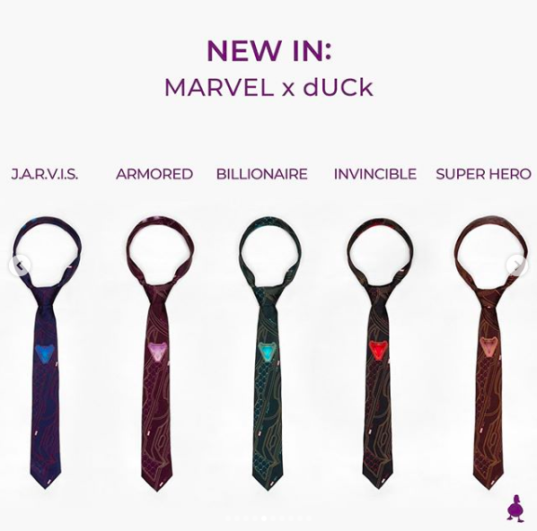 Which tie tickles your fancy?