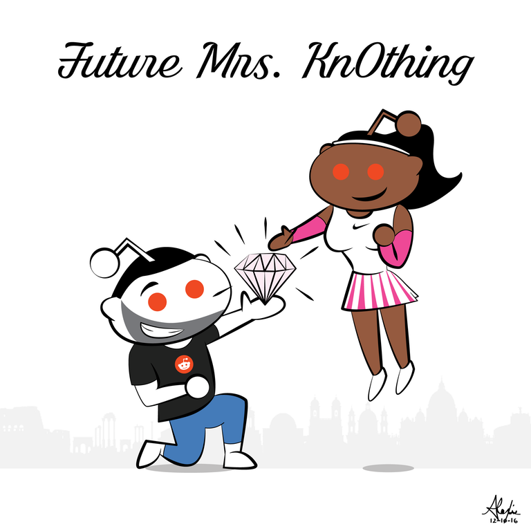 Congrats, lovebirds!