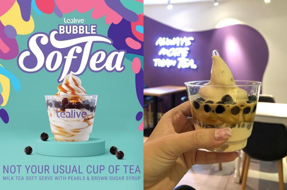 Tealive Launches Premium Boba Tea Soft Serve That Looks So Yummy And Instagrammable