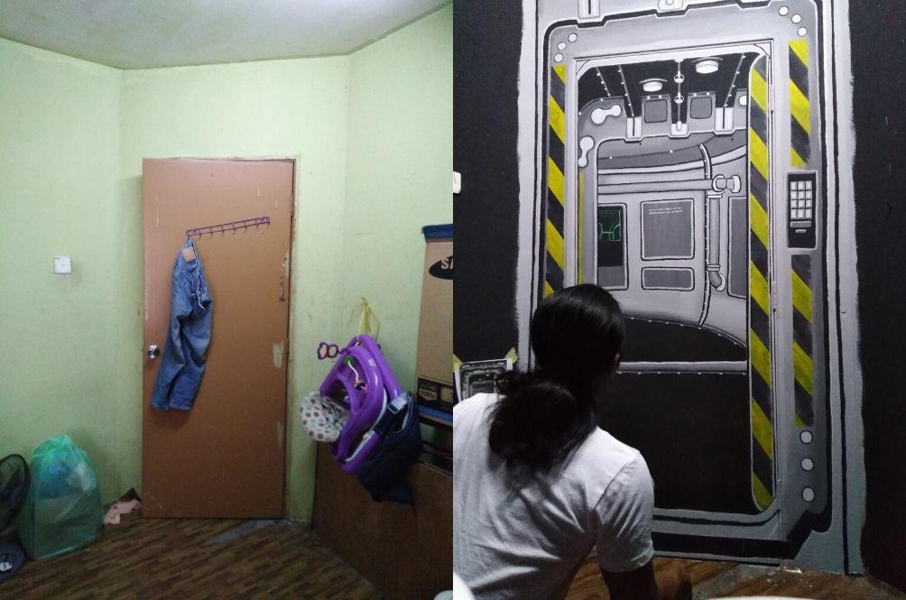 Same door, different design.
