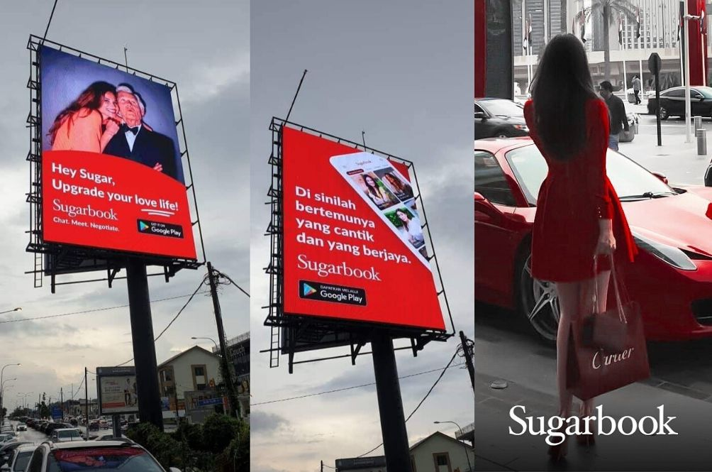 Malaysians Are Furious Over Billboard Ads Promoting Sugar Baby App In Kuala Lumpur