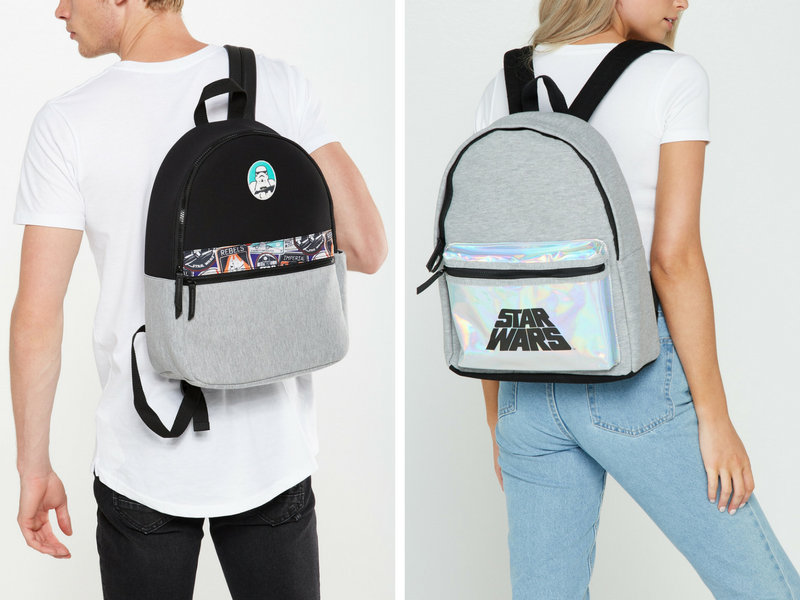 That bag with the holographic logo though - LIT!